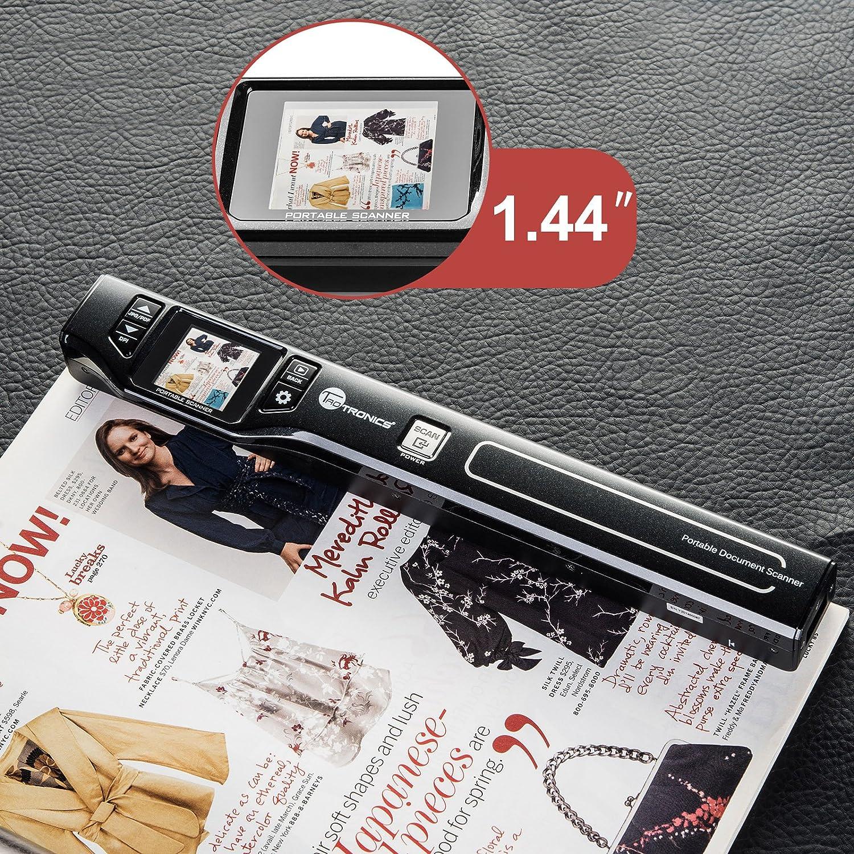 B00M2VVQKI TaoTronics® TT-DS011 beim Scannen, Zeitschrift