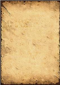 Sigel DP240 - Papel (50 hojas, A4, 90 gr), diseño de papel antiguo   Revisión del cliente y la descripción más