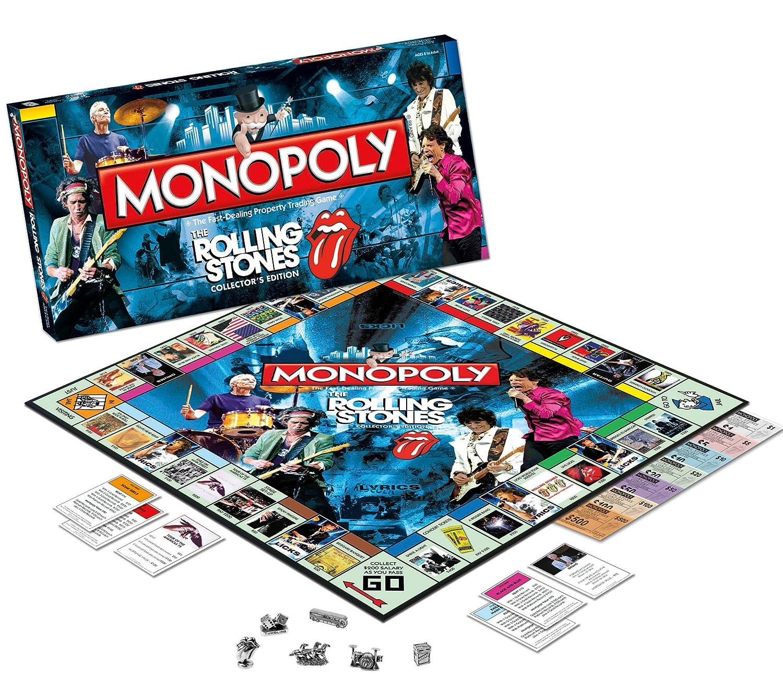 Monopoly Rolling Stones