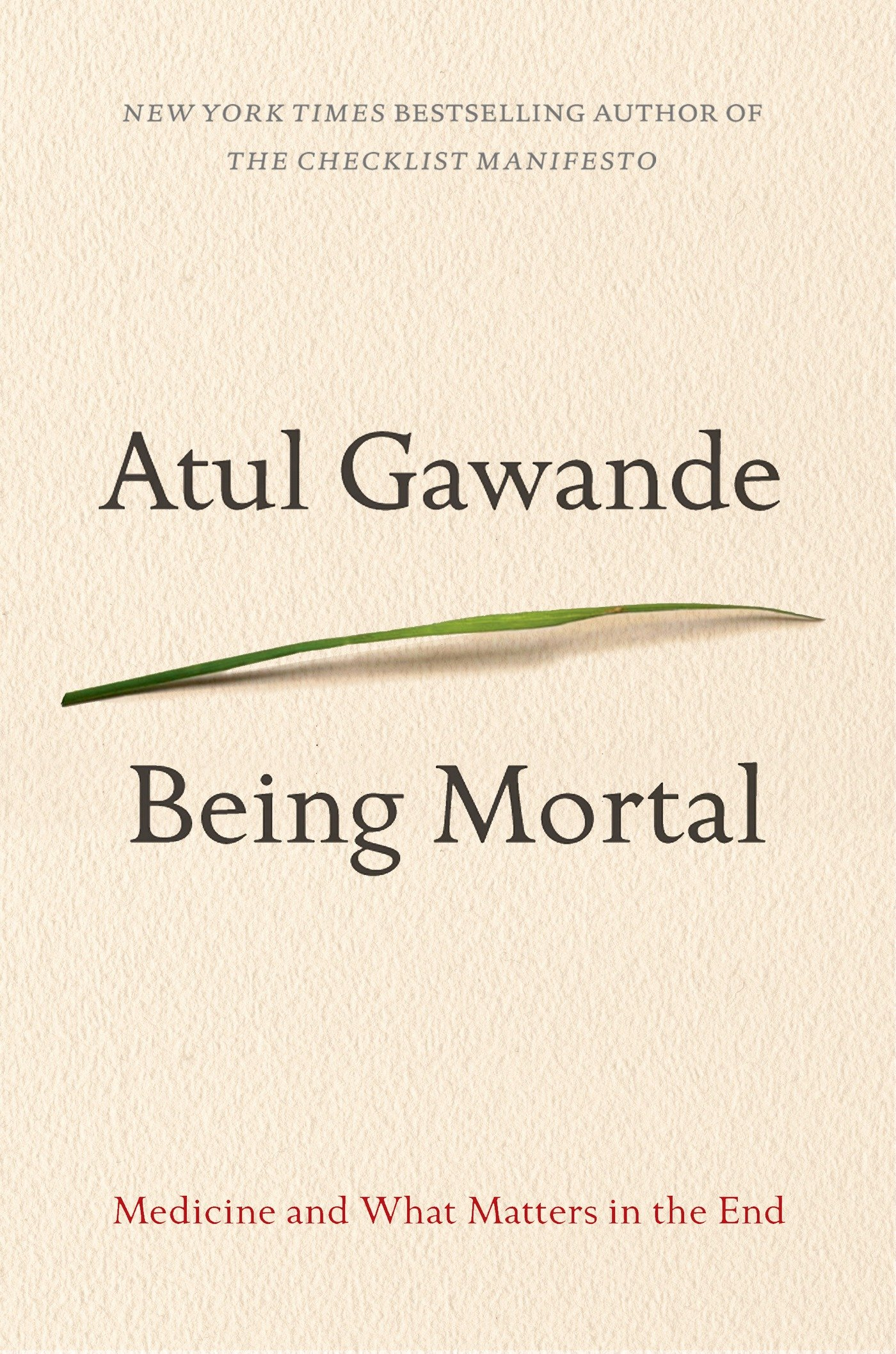 Being moral by Atul Gawande book cover