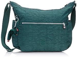 Kipling - Alenya - Sac bandoulière mode - Femme - Vert (Winter Green) - Taille unique   avis de plus amples informations
