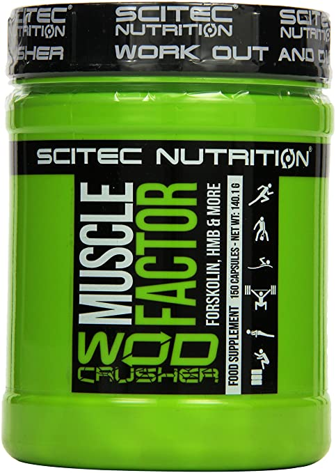 Scitec Nutrition Muscle Factor, 1er Pack (1 x 140 g)