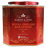 Harney & Sons Royal English Breakfast Tea Tin - High Quality Blend of Black Teas, Great Present Idea - 30 Sachets, 2.67 Ounces