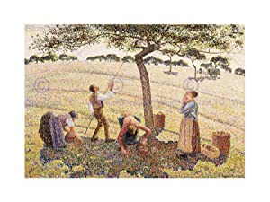 Apple Harvest by Camille Pissarro