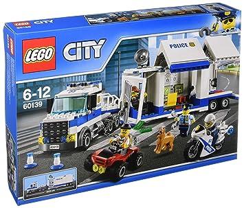 LEGO - 60139 - City - Jeu de construction  - Le Poste de Commandement Mobile