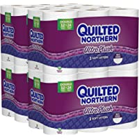 Quilted Northern Ultra Plush Toilet Paper Bath Tissue (48 Double Rolls)