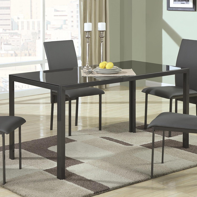 Extraordinary Rectangular Glass top Dining Table Photos  : 91EH53nVqVLSL1500 from www.dievoon.info size 1500 x 1500 jpeg 375kB