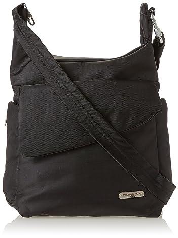 Travelon Anti Theft Messenger Bag Black One Size