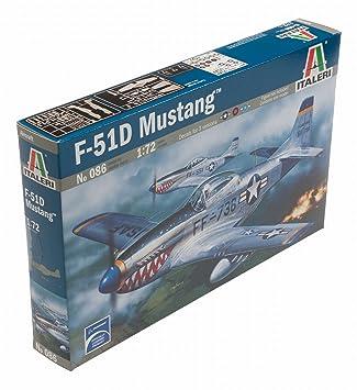 Italeri - I086 - Maquette - Aviation - P-51D Mustang - Echelle 1:72