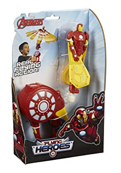 Flying Heroes – Iron Man – Figurine Volante et Lanceur