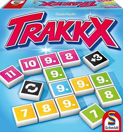 Schmidt Spiele - 49303 - Jeu De Société - Trakkx
