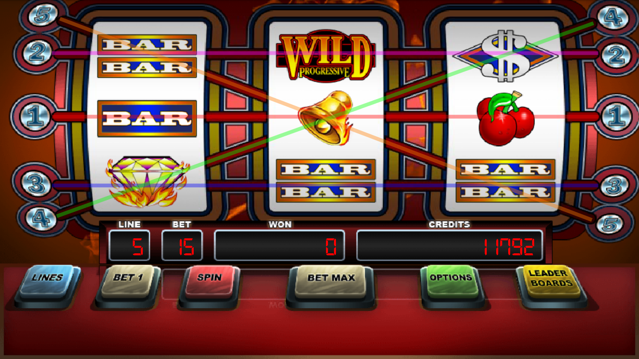 blazing 7 slot machines