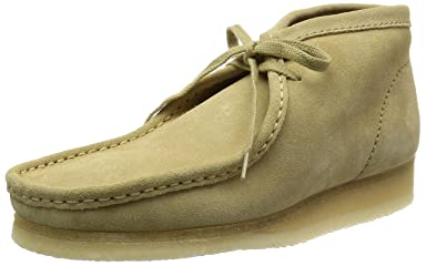 Wallabee Boot: Maple Suede