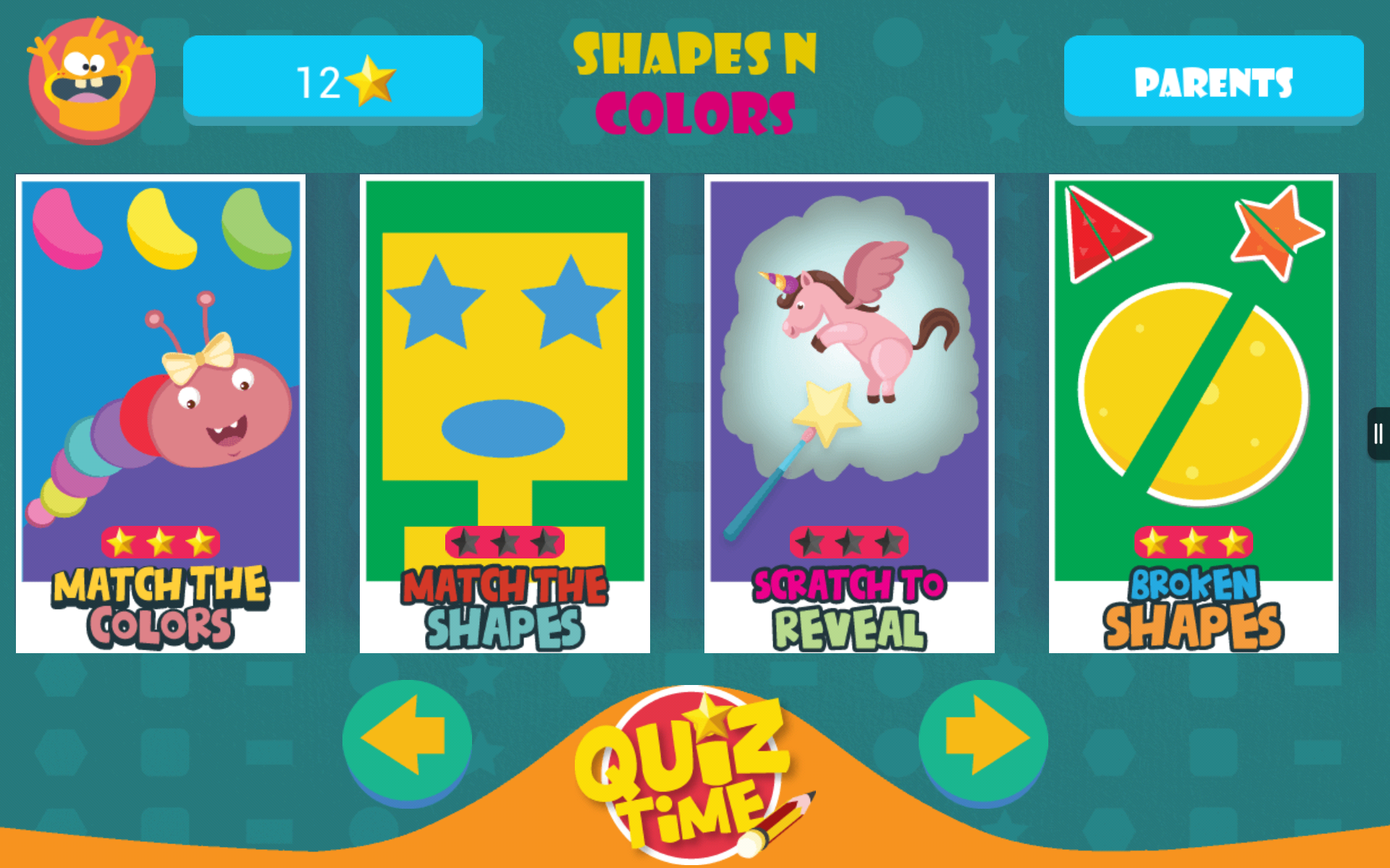 Shapes & Colors: Kindergarten & Preschool Games- FREE
