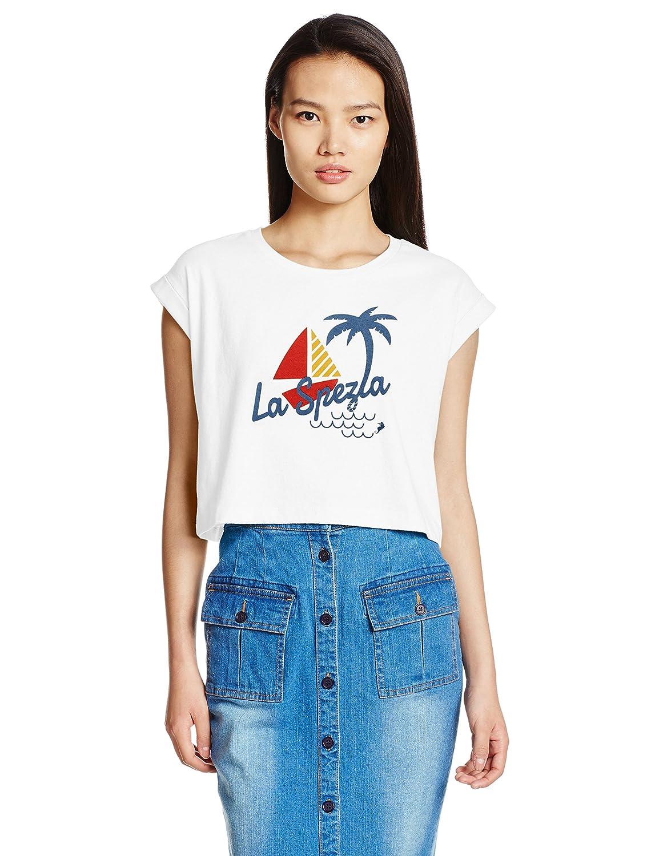 Lily Brown(リリーブラウン)_(リリーブラウン)Lily Brown トロピカルTシャツ LWCT162134 2 OWHT F_通販_Amazon|アマゾン