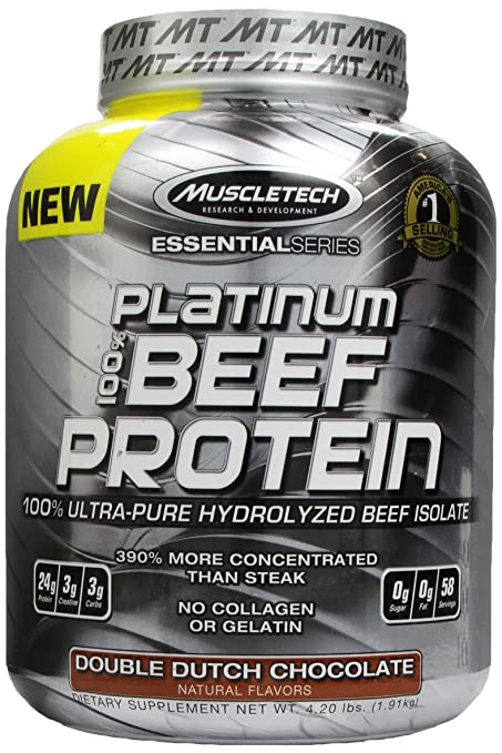 100% Beef Protein 4 lbs-Double Dutch Chocolate