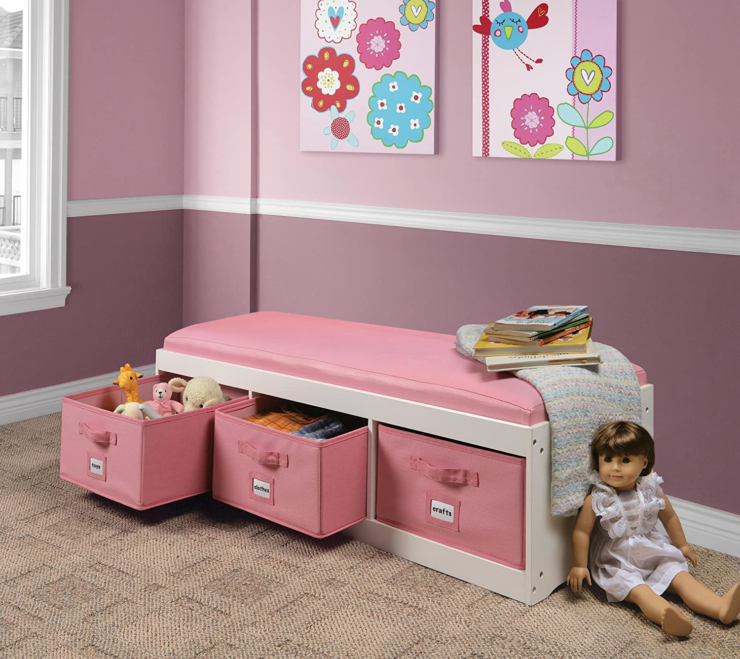Bench Storage Comfort Tot Furniture