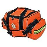 Lightning X Large EMT First Responder Bag w/ Dividers - FLORESCENT ORANGE (Color: Florescent Orange)