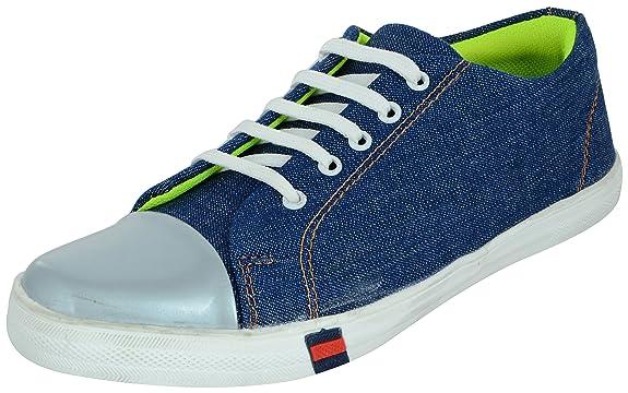 Auserio Men's Blue Sneakers - 7 UK/India (41 EU)(SS_359)