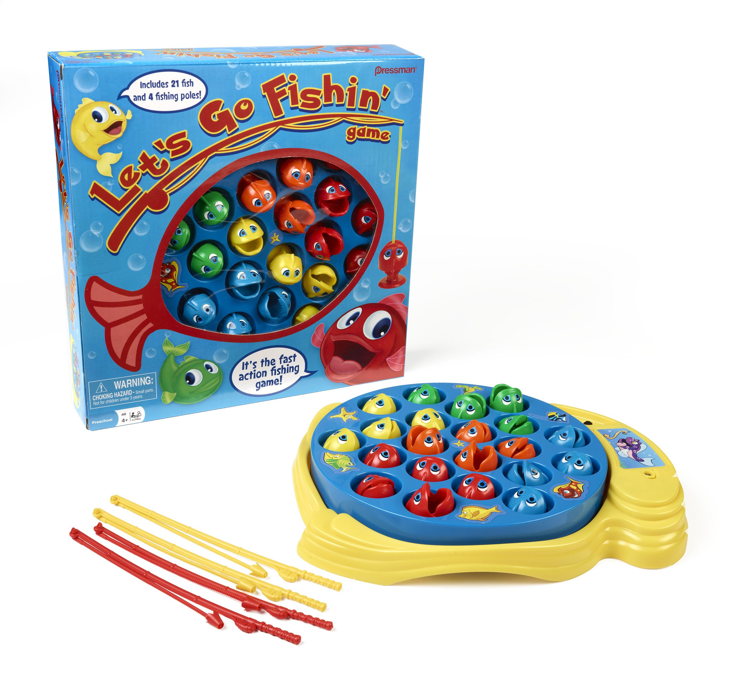 Fishing Game Toy : Lets go fishin original classic fishing toy for kids