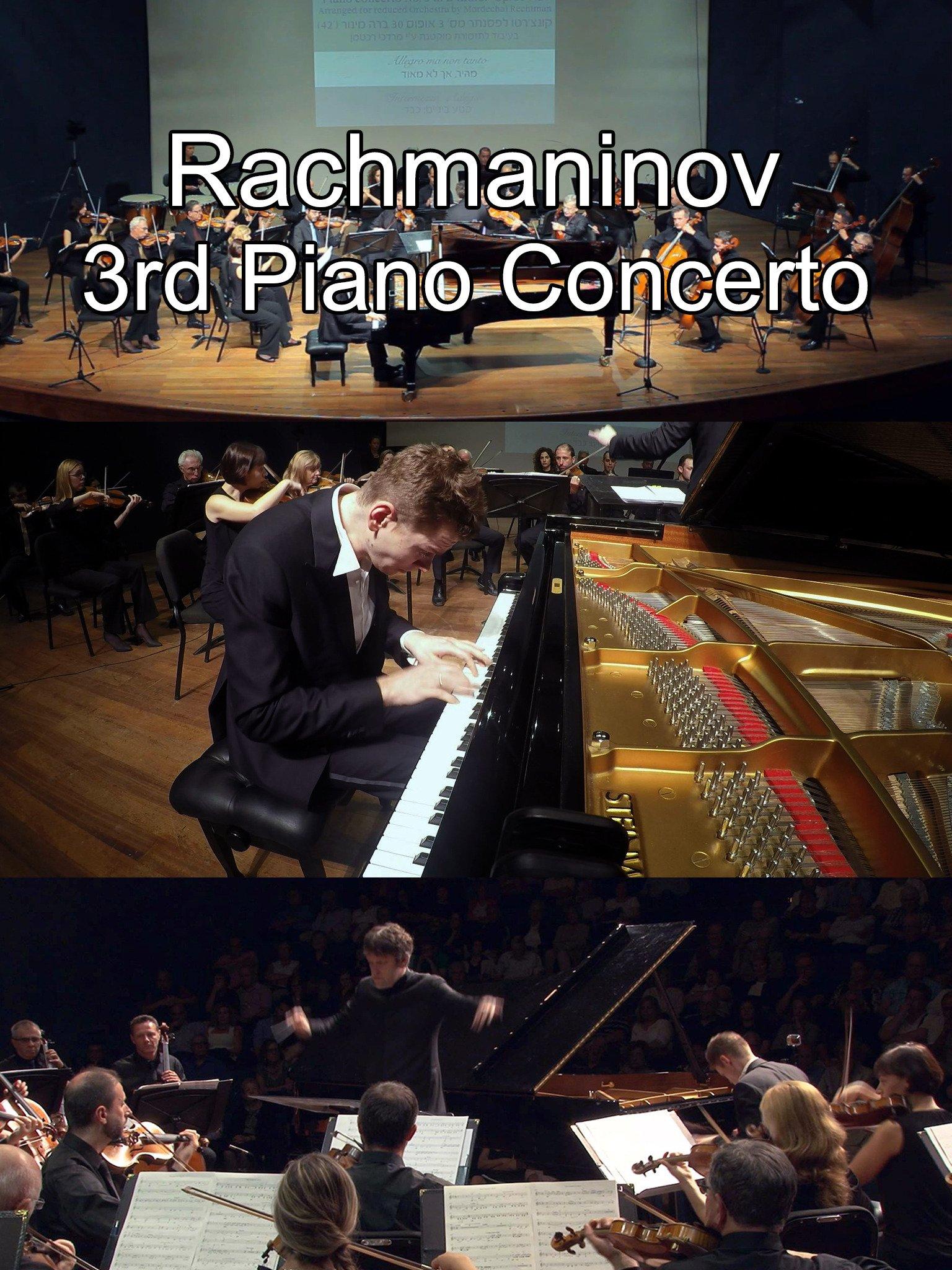 Rachmaninov 3rd Piano Concerto