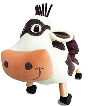 Little Bird Told Me - Moobert Cow - Childs Ride On Toy