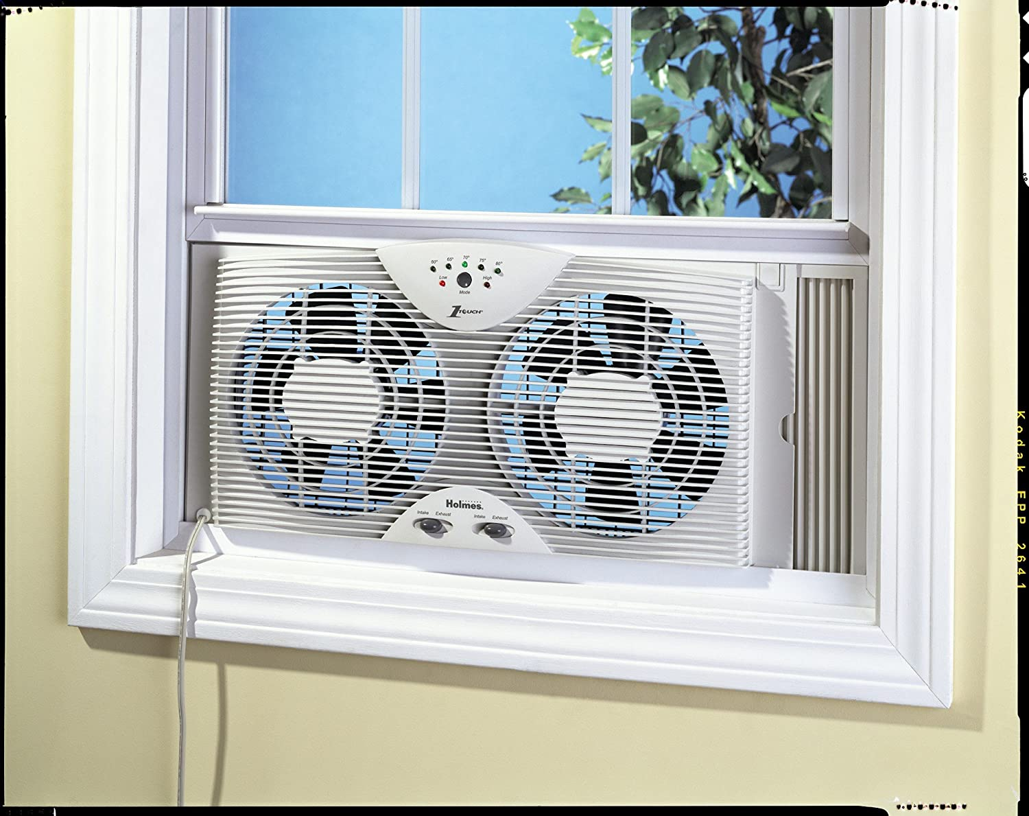 Holmes hawf2043 dual blade twin window fan with one touch - Extractor de aire ...