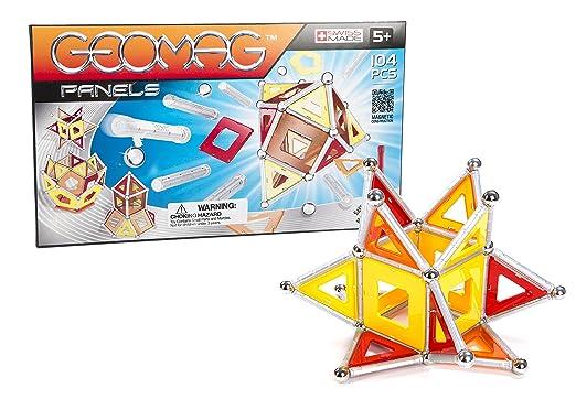 Geomag - 453 - Jeu de Construction - Panels -  104 Pièces
