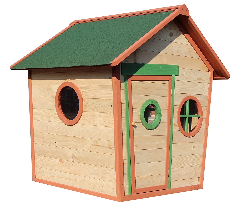 Kinderspielhaus JOHANN – Spielhaus aus Holz online bestellen