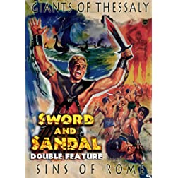 Sword And Sandal Double Feature: Vol 1 Giants Of Thessaly & Sins Of Rome