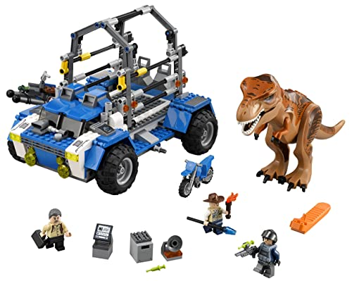 LEGO Jurassic World T. Rex Tracker 75918 Building Kit