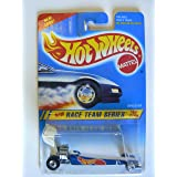 Hot Wheels Race Team Series #4 of 4 Dragster Collector #278 on New Look Card Variant