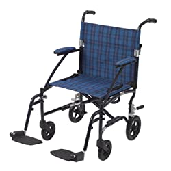 Medical Fly Lite Ultra Lightweight Transport Wheelchair