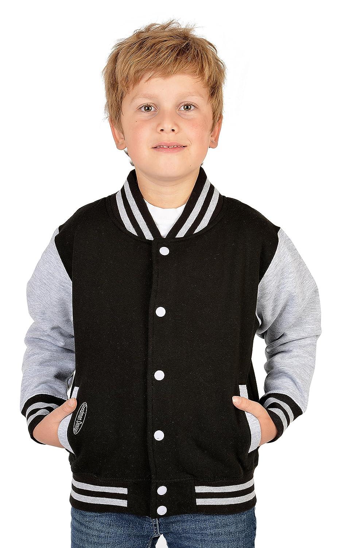 College Sweater für Jungs mit Goodman Logo! Weiche Collegejacke für Kids, sportlich und lässig! Farbe: schwarz günstig online kaufen