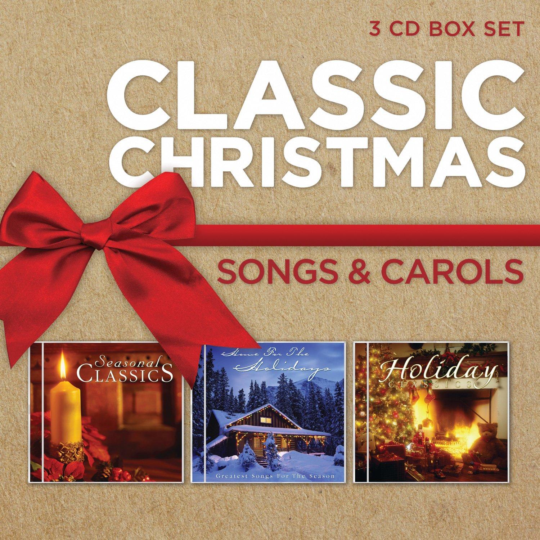Classic Christmas Songs And Carols [3 CD] Box set