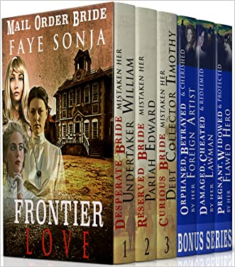 Mail Order Bride: Frontier Love 6 BOOK Boxed set ( BONUS included ): CLEAN Western Historical Romance Series Bundle