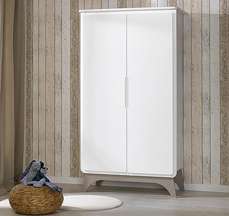 Alfred & Company Bebe White Linen Cupboard