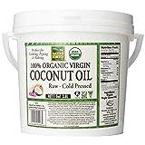 Native Forest 100% Organic Virgin Coconut Oil, 128 Ounce Tub (Tamaño: 128 Ounce)