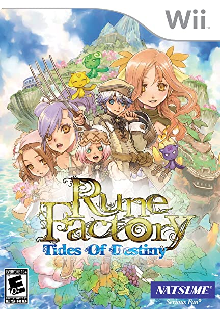 Rune Factory Tides of Destiny