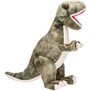 Prextex 24 Giant Plush Dinosaur T-Rex Jumbo Cuddly Soft Dinosaur Toys for Kids (Tamaño: 24 Inches)