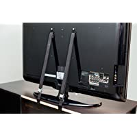 2-Pack TV and Furniture Anti-Tip Heavy Duty Strap (Black)