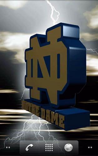 Notre Dame Fighting Irish Live Wallpaper - Amazon Mobile Analytics and ...