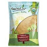 Food to Live Certified Organic Maca Root Powder (Non-GMO, Kosher, Raw Ground Maca Root, Flour, Bulk) (8 Pounds)
