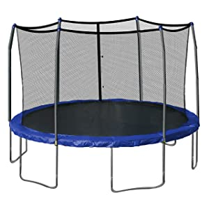 Skywalker-Trampolines-15-Feet-Round-Trampoline-and-Enclosure-with-Spring-Pad