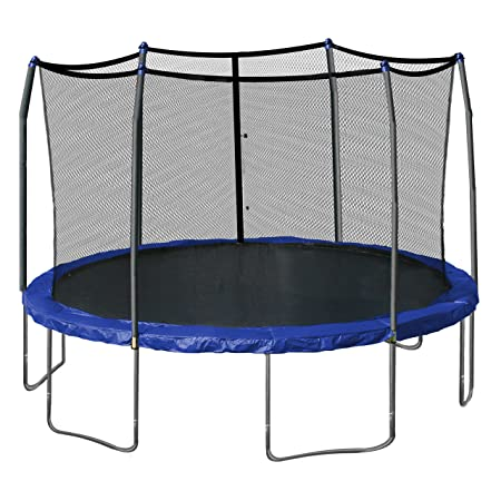 Skywalker Trampolines with enclosure & spring pad 15 feet round