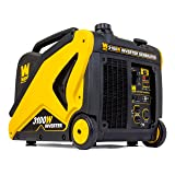 WEN 56310i CARB Compliant Inverter Generator with Built-in Wheels and Handle, 3100W (Tamaño: 3100 Watts)