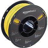 AmazonBasics PLA 3D Printer Filament, 1.75mm, Translucent Yellow, 1 kg Spool (Color: Translucent Yellow, Tamaño: 1.75mm)