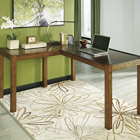 Nice Looking L-desk,simple and Attractive Well Made Writing Desk. Spacious Desk Will Give You Work Space. Desk Has Beautiful Color and Clean Lines.