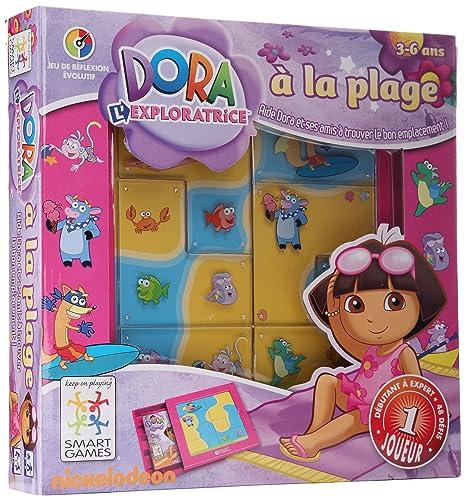 Smart Games - SGDR 201 FR - Jeu de Société - Dora à la Plage