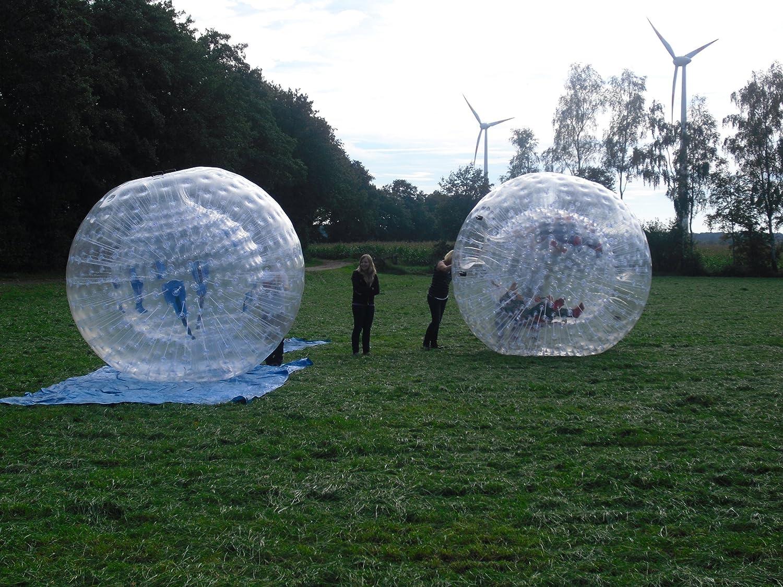 Zorb Zorbing Megaball Riesenball PVC 2,80m mit Pumpe,gebraucht jetzt kaufen